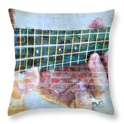 Instrumental Dreams. Throw Pillow