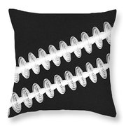 Insulators In Black And White Throw Pillow