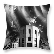 Intake Tower Hoover Dam Throw Pillow