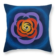Integrated Cresents Throw Pillow