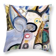 Intellect Throw Pillow