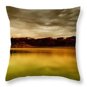 Intenisty In The Clouds  Throw Pillow