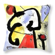 Intense And Purpose 1 Throw Pillow