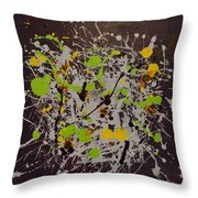 Intense Discovery Throw Pillow
