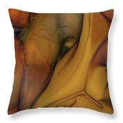 Intensity In Glass Throw Pillow