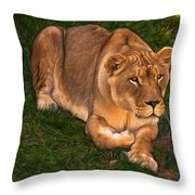 Intensity - Paint Throw Pillow