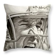 Intensity Peyton Manning Throw Pillow