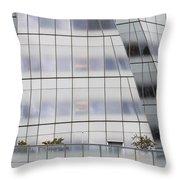Interactivecorp Building Throw Pillow