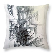 Interchange Between Ambition And Restraint 1 Throw Pillow