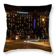 Intercontinental Hotel Throw Pillow