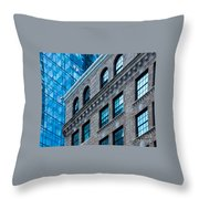 Intercontinental New And Old Throw Pillow
