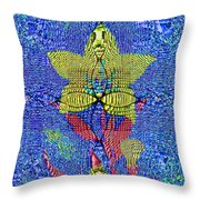 Interference Pattern Throw Pillow