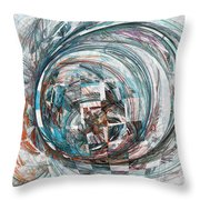 Interfering Structure Throw Pillow