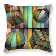 Interior Design 3 Throw Pillow