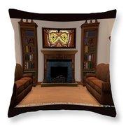 Interior Design Idea - Barn Owl Throw Pillow
