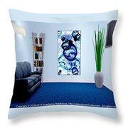 Interior Design Idea - Immiscible Throw Pillow