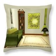 Interior Design Idea - Kiwi Throw Pillow by Anastasiya Malakhova