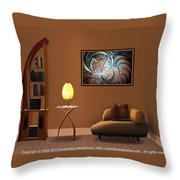 Interior Design Idea - Metal Forest Throw Pillow