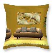 Interior Design Idea - Soft Wings Throw Pillow