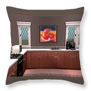 Interior Design Idea - Tomatoes Throw Pillow