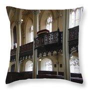 Interior Of The Chapel Royal - Dublin Castle Throw Pillow