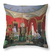 Interior Of The Winter Palace Throw Pillow