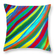 Interior Wave Olympic Throw Pillow