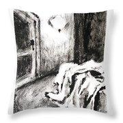 Interiors 3 Throw Pillow