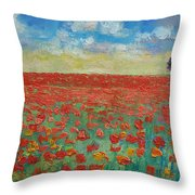 Interlude Throw Pillow by Michael Creese