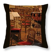 Intermission Throw Pillow