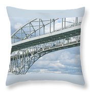 International Crossing Throw Pillow