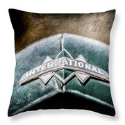 International Grille Emblem -0741ac Throw Pillow