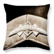 International Grille Emblem -0741s Throw Pillow