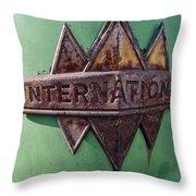 International Harvester Insignia Throw Pillow