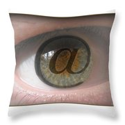 Internet Throw Pillow