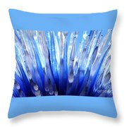 Interpreting Chihuly Throw Pillow