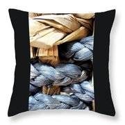 Interpretative Wrangling Throw Pillow