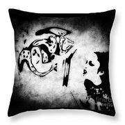 Interrogation Throw Pillow