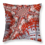 Intersecting Throw Pillow