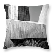 Intersection 2 Bw Las Vegas Throw Pillow