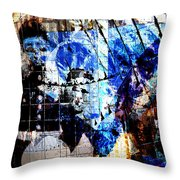 Interstate 10- Exit 257a- St Marys Rd / 6th St Underpass- Rectangle Remix Throw Pillow