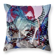 Interstate 10- Exit 261- 6th Ave Overpass- Rectangle Remix Throw Pillow