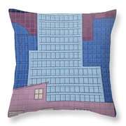 Interstate 10 Project Outtake_0020160 Throw Pillow