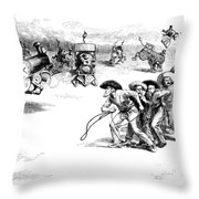 Interstate Commerce Act Throw Pillow