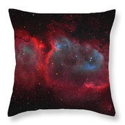 Interstellar Embryo  Ic 1848, The  Soul Throw Pillow