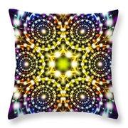Interstellar Mind Travel Throw Pillow