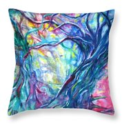 Intertwined 1 Throw Pillow