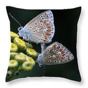 Intimacy Throw Pillow