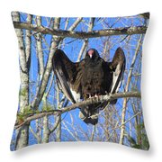 Intimidating Throw Pillow
