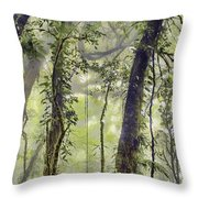 Into The Clouds II Throw Pillow